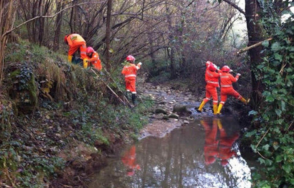 Cervo pulisce gli argini dei torrenti Rio Bondai e Rio Schenassi