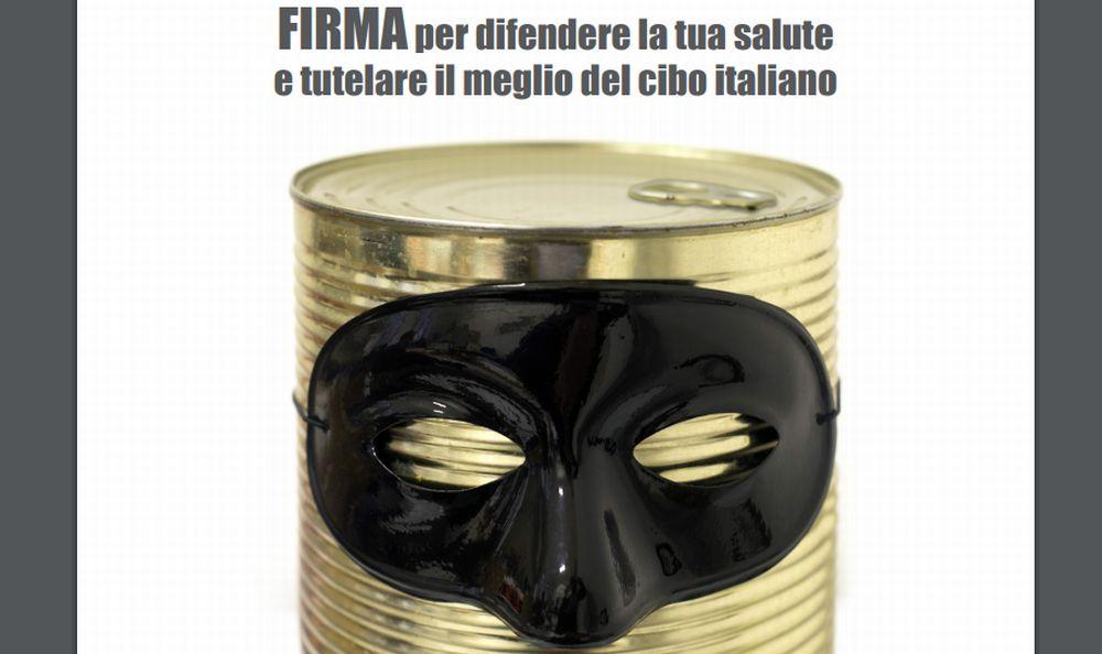 Coldiretti Alessandria: al via  la petizione #STOPCIBOFALSO
