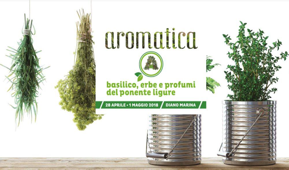 """Ecco in anteprima tutto il programma dettagliato delle tante manifestazioni a Diano Marina per """"Aromatica"""""""
