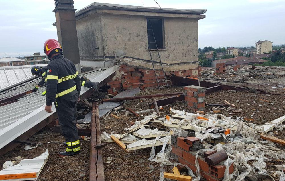 Ad Alessandria Tre persone salvate  dei Vigili del Fuoco. L'elenco dei maggiori interventi effettuati per il temporale di ieri in tutta la provincia
