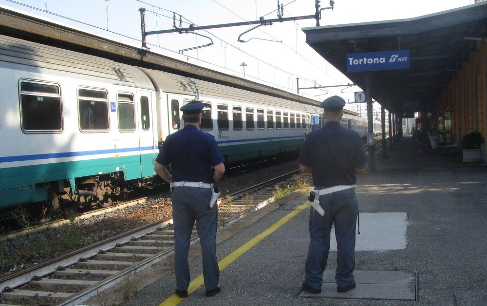 Anche la stazione di Tortona nei controlli della Polizia Ferroviaria del Piemonte