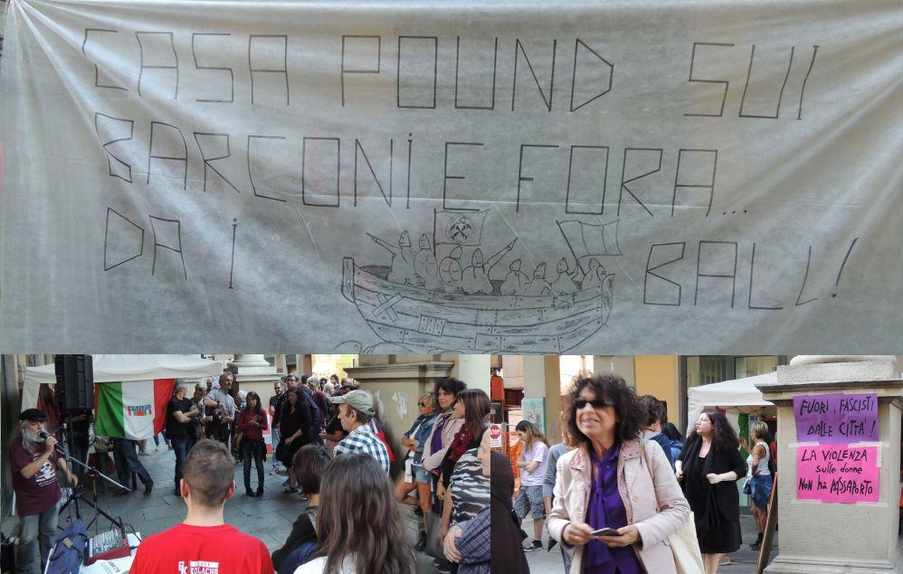 """Dichiarazioni di """"guerra"""" a Tortona, del Comitato antifascista e dell'Anpi contro Casapound. Forse è meglio smorzare i toni"""