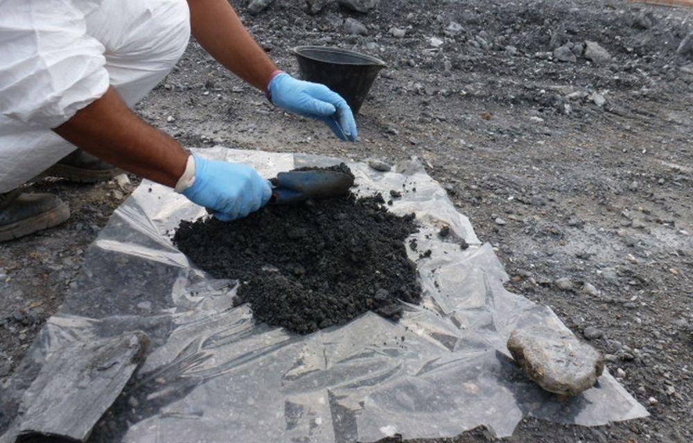 Osservatorio Ambientale Terzo Valico: come comporre in cantiere il campione per l'analisi dell'amianto totale