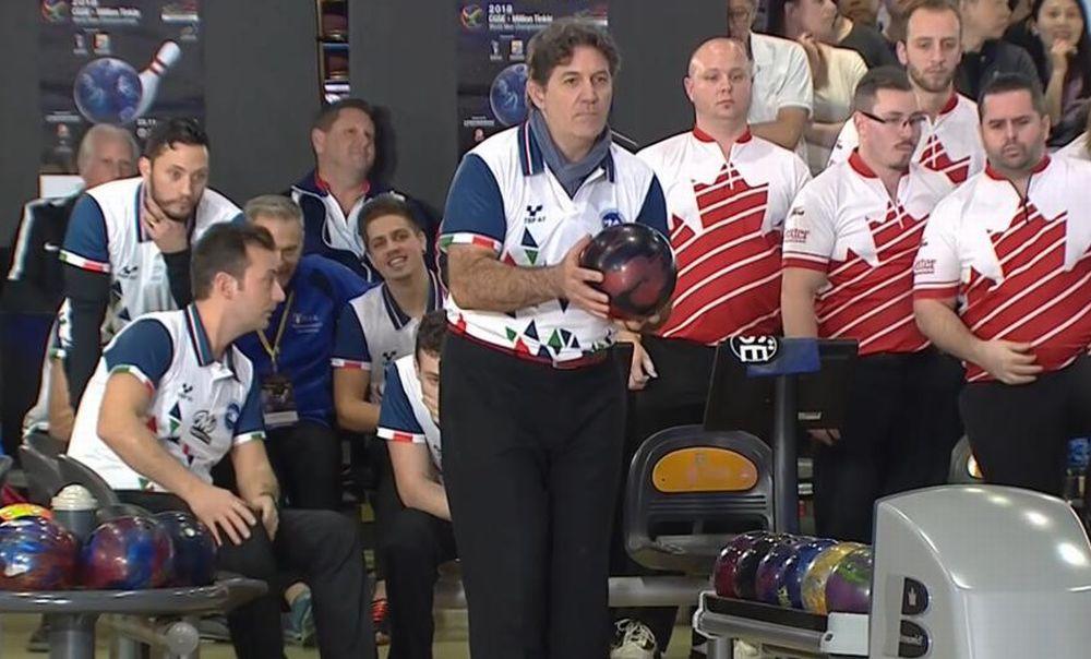 Il dianese Marco Reviglio e l'Italia campioni del mondo di bowling