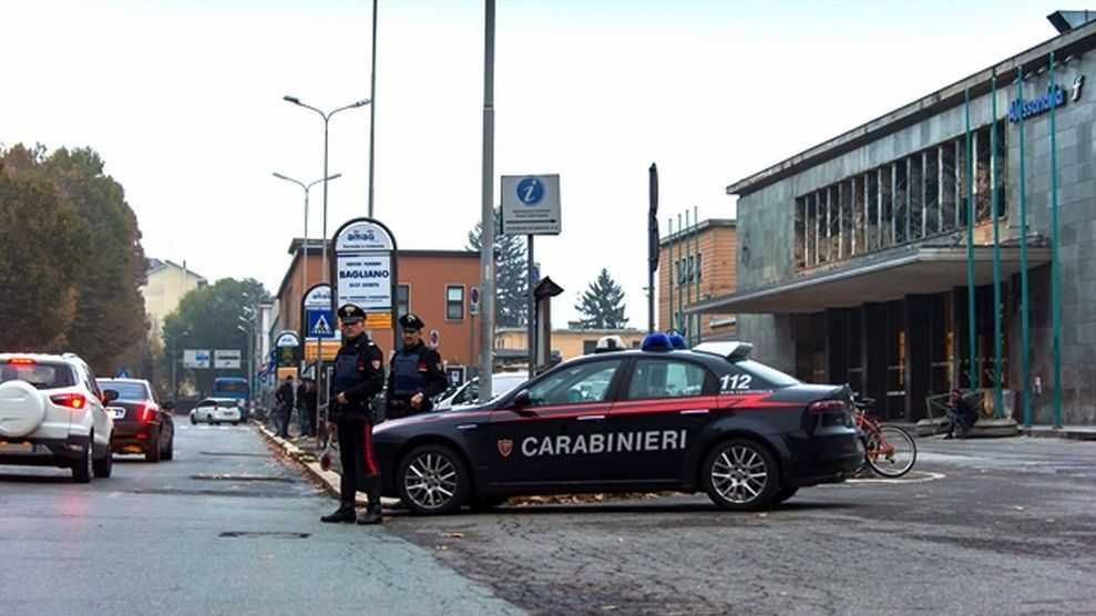 Tre interventi dei carabinieri di Alessandria in città