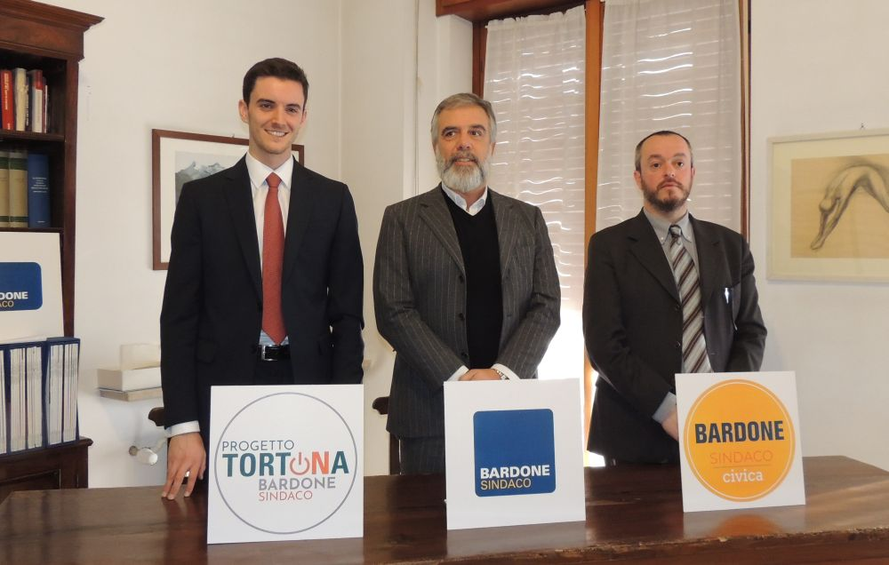 Bardone ha ripresentato la sua candidatura con sobrietà, sostenuto da giovani under 30 e società civile