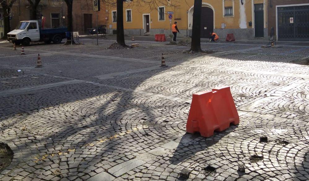 Il Comune di Tortona dà il via ai lavori di manutenzione del porfido in molte strade