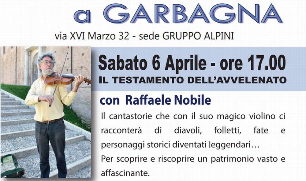 """Un appuntamento culturale a Garbagna con l'associazione """"Librinscena"""""""