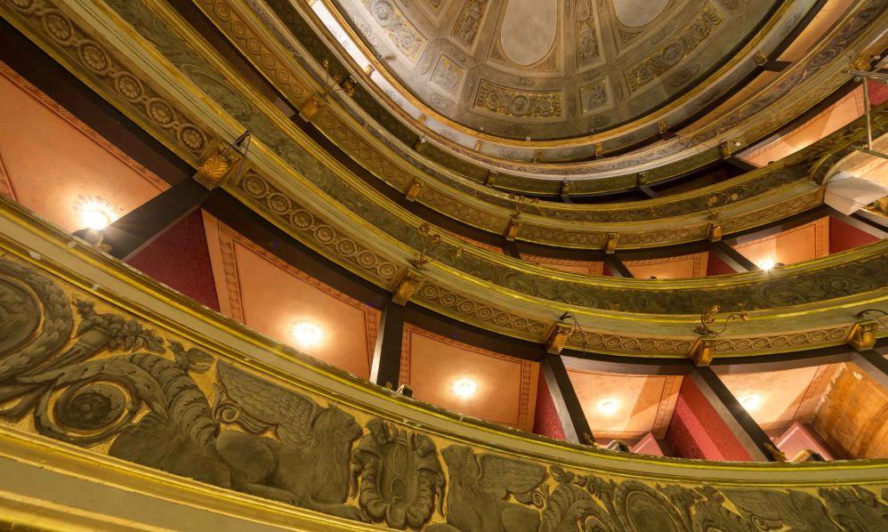 A Novi Ligure l'annullo speciale per il 180° anniversario del teatro Marenco