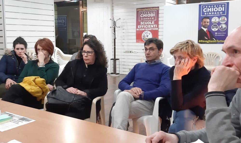 Crisi del Commercio a Tortona: il candidato Sindaco Federico Chiodi incontra gli operatori per aiutarli