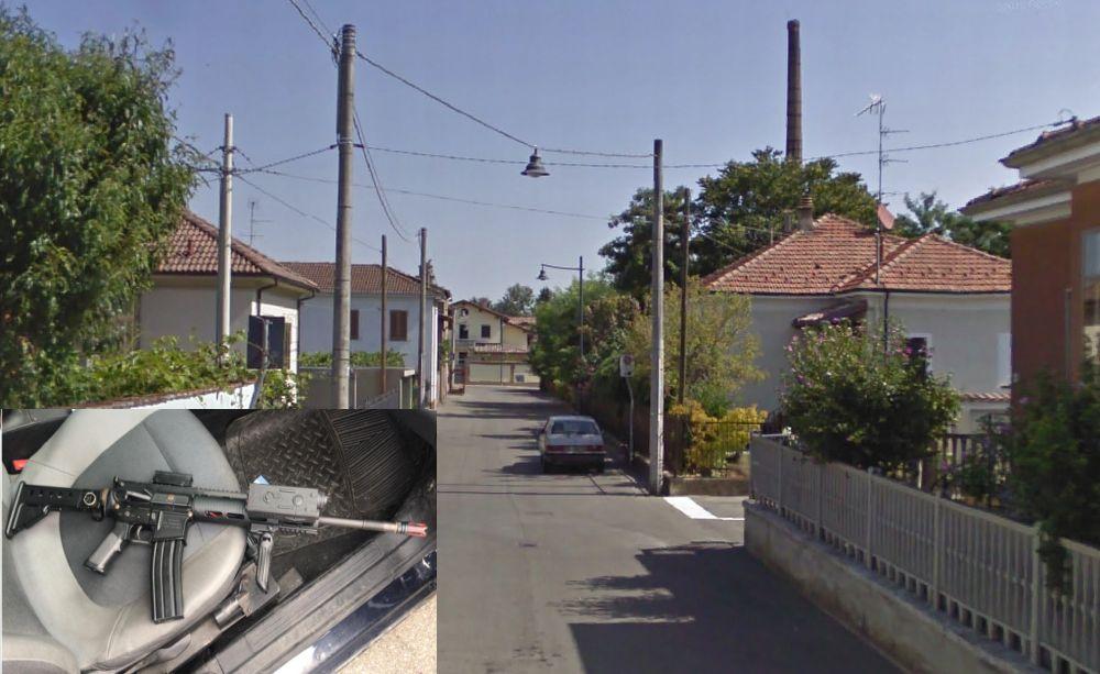 Spari a Pontecurone in via Ottaggi, la gente chiama i carabinieri e un giovane di 14 anni finisce nei guai