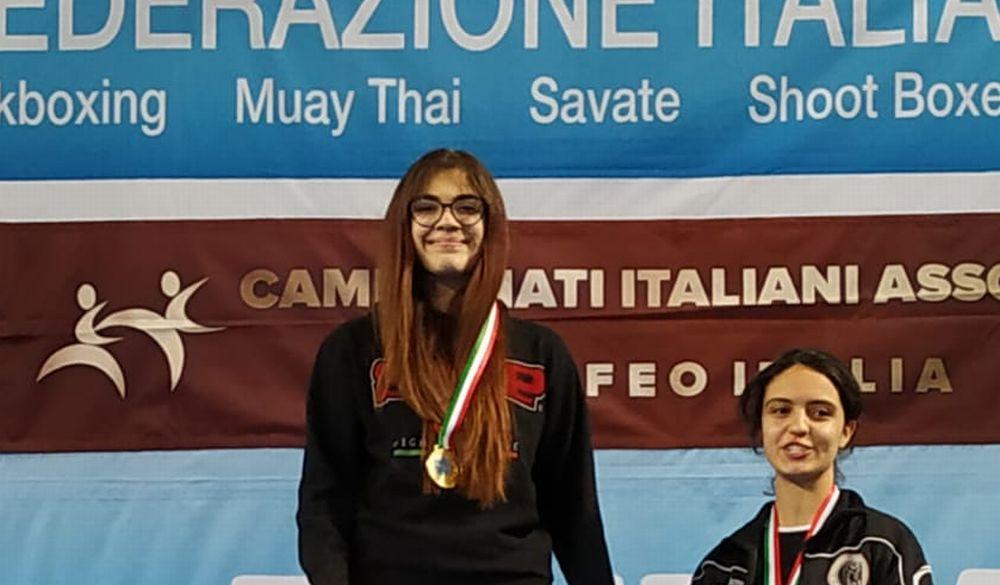Doppio successo per Beatrice Casasco di Viguzzolo ai campionati italiani di Kick Boxing