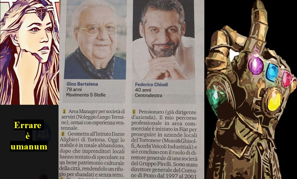 """Le """"Cappelle"""" degli altri: per un giornale Federico Chiodi a 40 anni è già pensionato!"""
