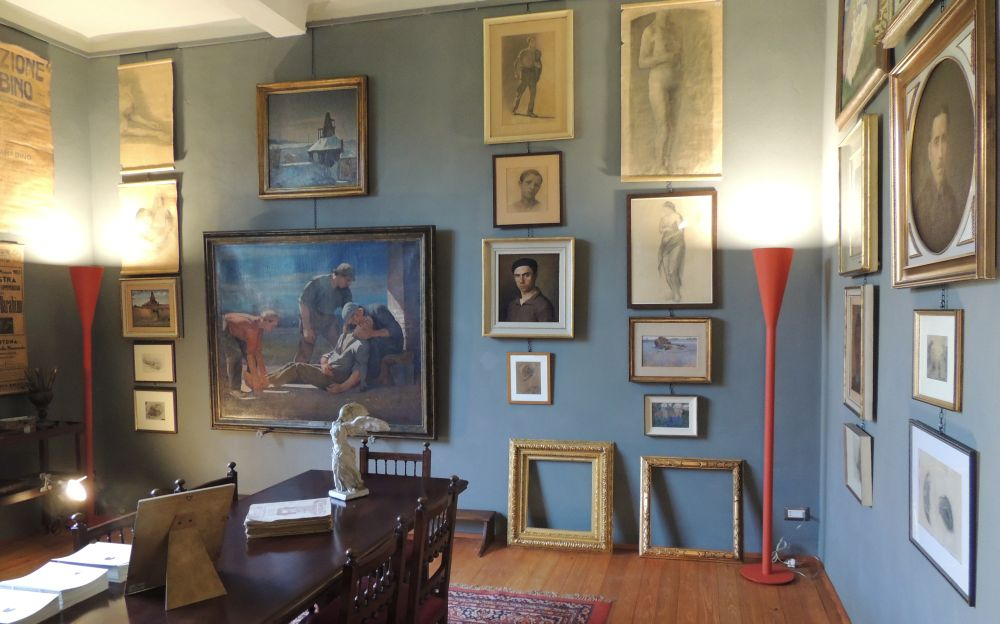 """Domenica a Tortona si può visitare gratis lo studio del pittore Barabino e la Gipsoteca """"Luigi Aghemo"""""""