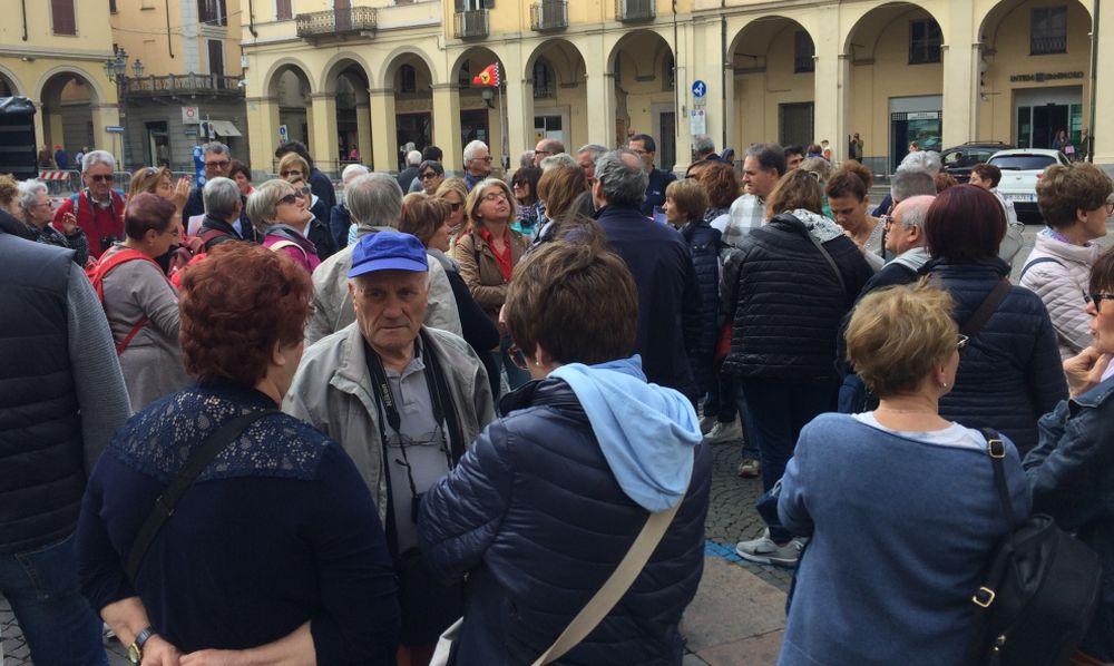 Mille turisti a Tortona giunti dalla provincia di Cuneo