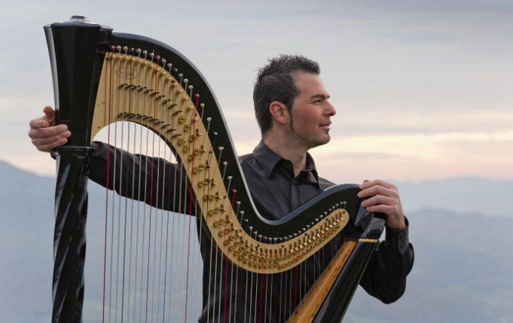 La magica arpa di Davide Burani riempie di note la Val Curone Si apre con il concerto di lunedì 24 giugno la rassegna Val Curone in Musica