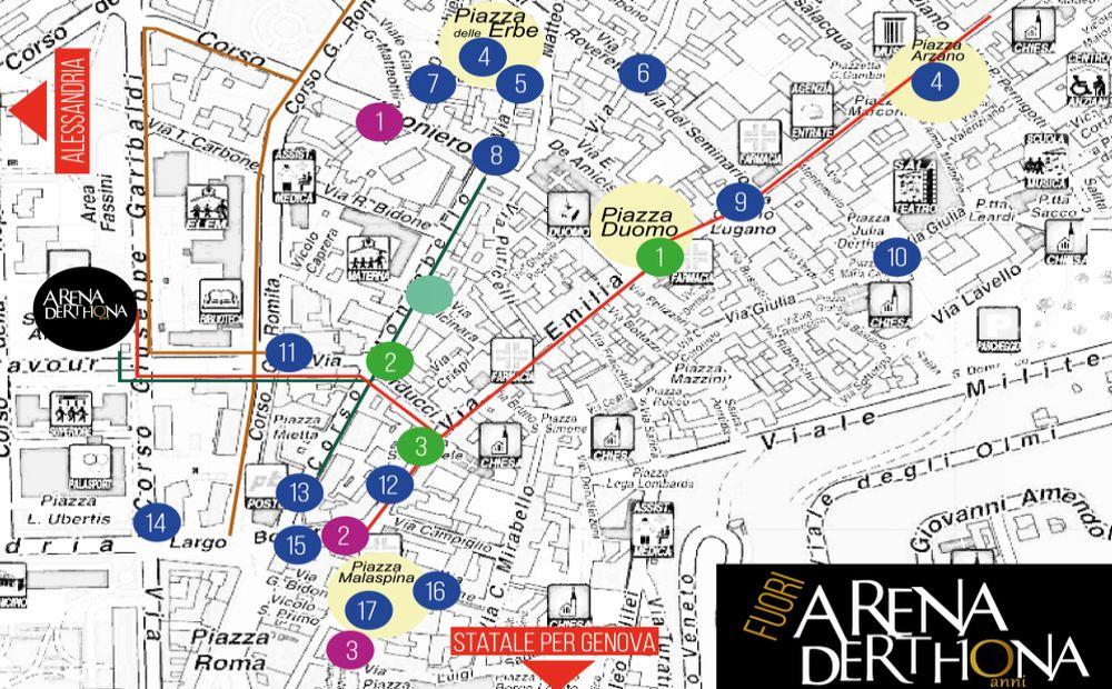 """24 locali di Tortona accompagneranno """"Arena Derthona"""" in un percorso gastronomico per scoprire piatti e specialità"""