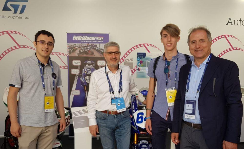 Quattro studenti del Marconi di Tortona al Tecnology Day