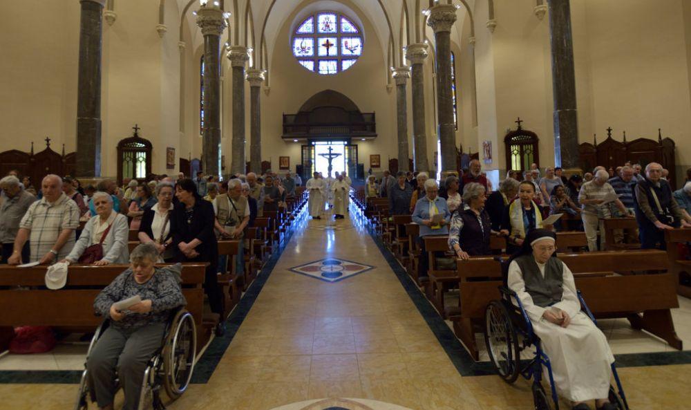 Al Santuario della Madonna della Guardia di Tortona 250 pellegrini da Genova