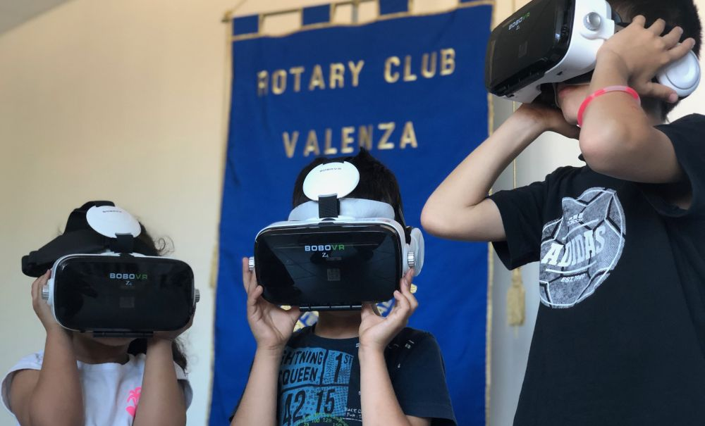 All'ospedale Infantile di Alessandria visori per la realtà virtuale grazie al Rotary