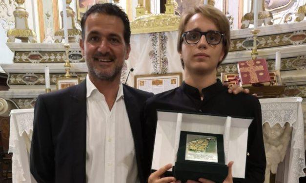 Il Rovere d'Oro al pianista 18enne genovese Lorenzo Famà