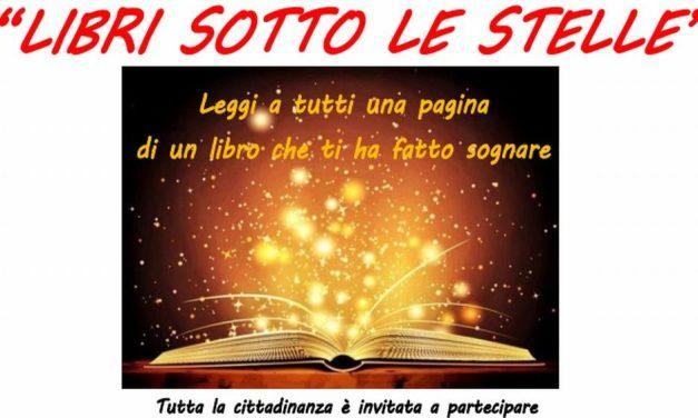 """Domenica a Casalnoceto c'è la rassegna """"Libri sotto le stelle"""""""