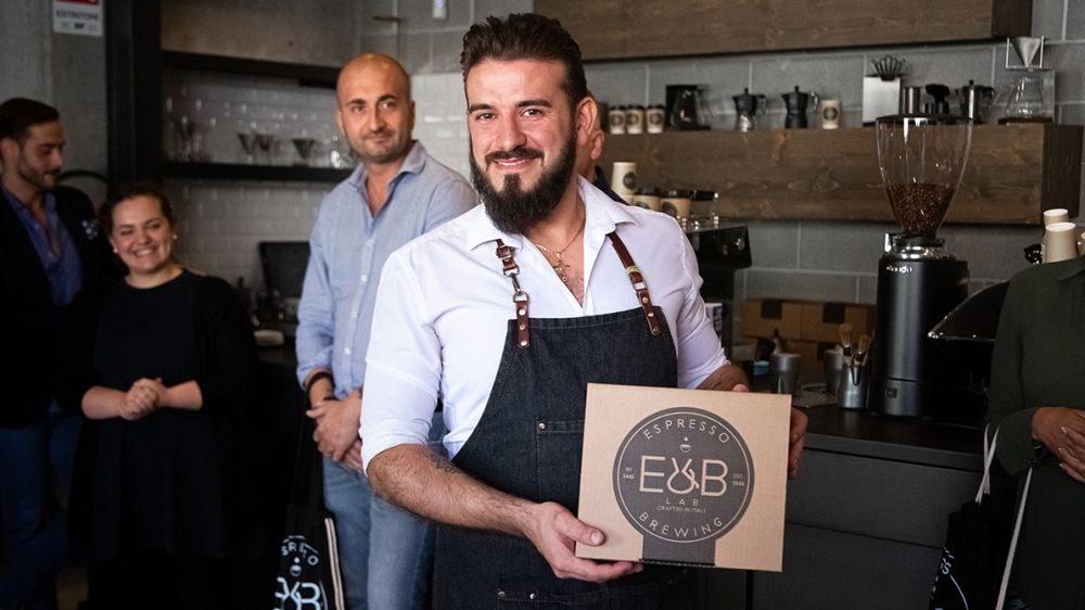 Andrea Panizzardi del bar Fortuna di Casalnoceto ha vinto il Moka Challenge Italia