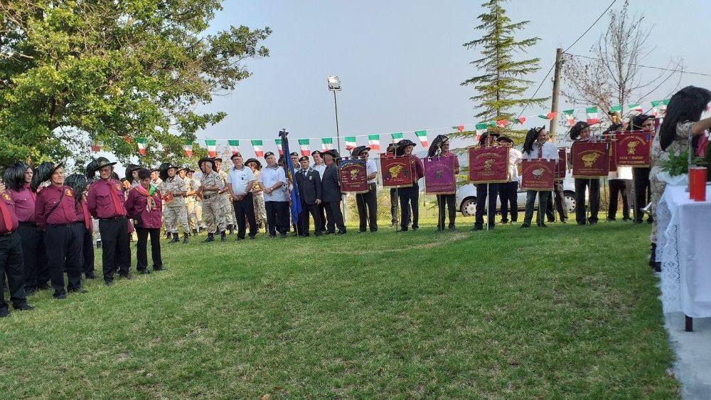 Ad Avolasca si è svolto il raduno provinciale dei bersaglieri
