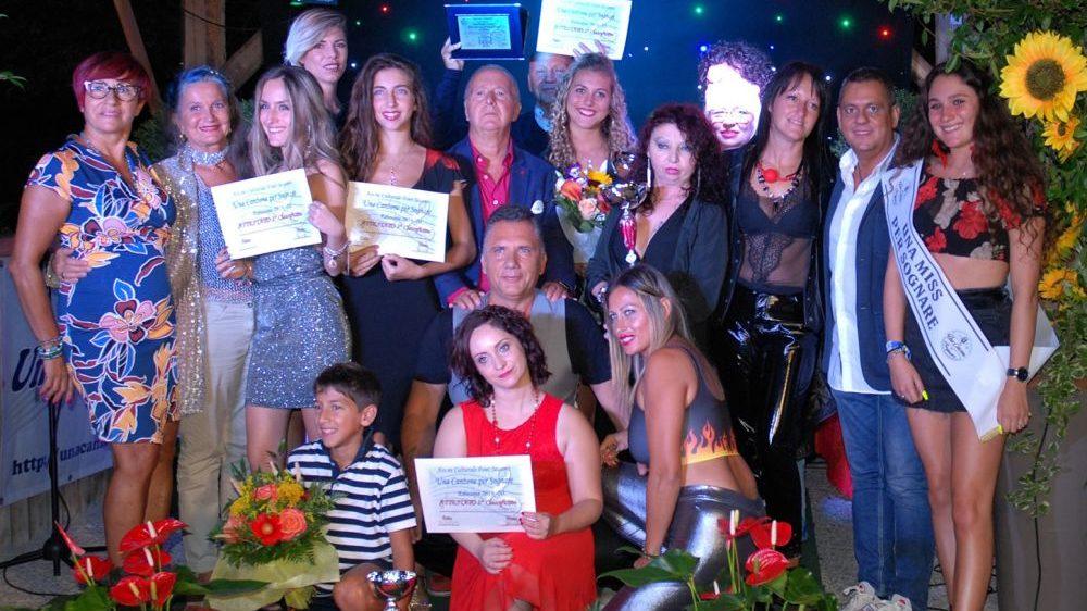 """Cristina Nucci di Villalvernia vince il premio over al concorso """"Una miss per sognare"""" legato a """"Una canzone per sognare"""""""