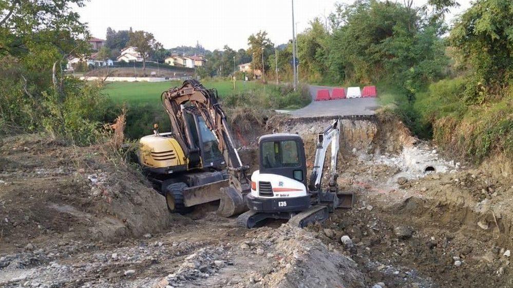 Iniziati i lavori in strada Viola a Tortona, chiuso il ponte fino al 31 ottobre