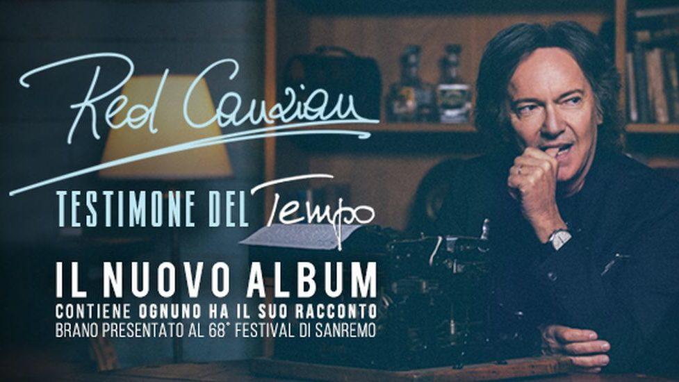 Venerdì sera a Castelnuovo Scrivia il concerto di Red Canzian per la Senologia di Tortona