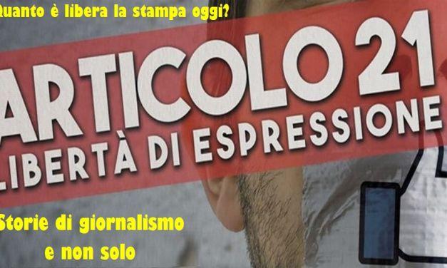 Sabato a Tortona un dibattito pubblico sulla libertà di espressione e di stampa che è in forte pericolo