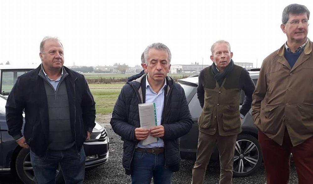 L'assessore Regionale Protopapa in visita nelle aziende alluvionate ella provincia di Alessandria