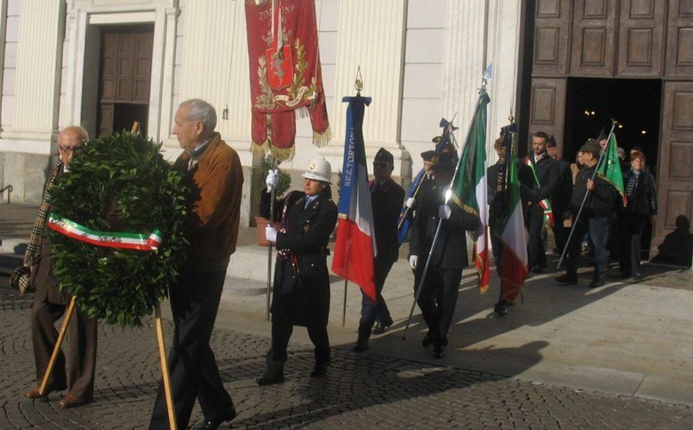Le immagini della festa del IV novembre a Tortona