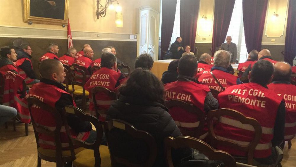A Novi Ligure si è svolto un incontro con i dipendenti del Consorzio Trasporti