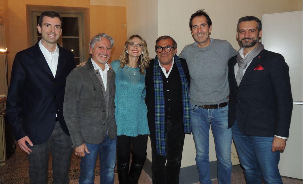 """Calabresi e Autieri sbancano Tortona con """"La Menzogna""""  realistica commedia sulla vita di coppia. Le immagini del successo"""