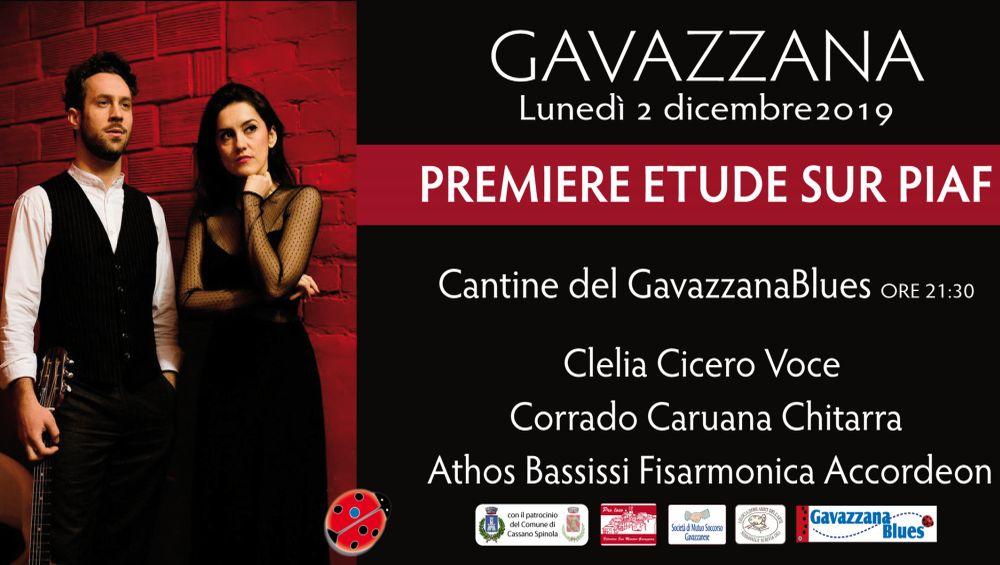 A Gavazzana Lunedì un concerto blues