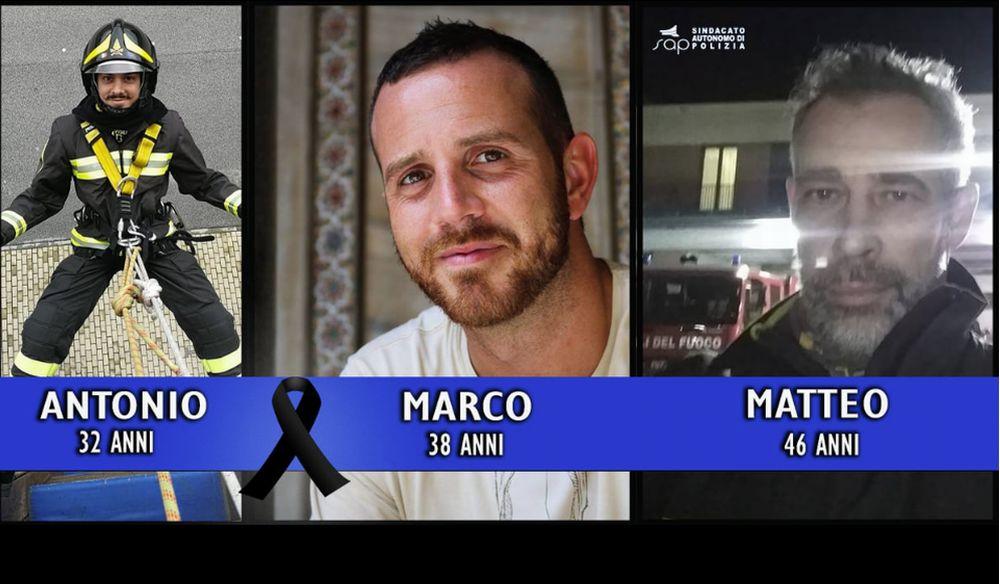Giovedì si ricordano i tre pompieri morti a Quargnento