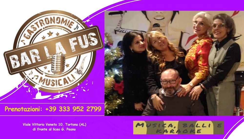 """A Tortona inaugurato il Bar """"Lafus"""" nuovo locale per divertirsi in allegria. E il 31 dicembre grande festa per tutti"""