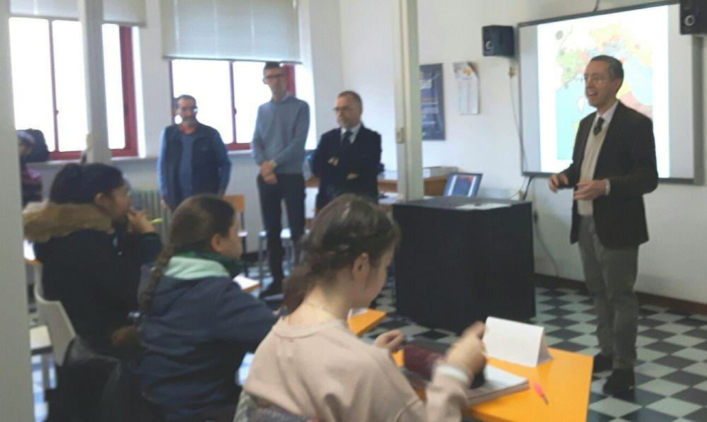 Gli studenti del Marconi sulle tracce di Napoleone, l'Imperatore che trasformò Tortona