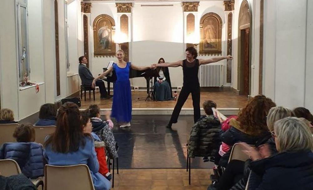 """Prima rappresentazione dello """"Schiaccianoci"""" all'Accademia """"Lorenzo Perosi""""di Tortona"""