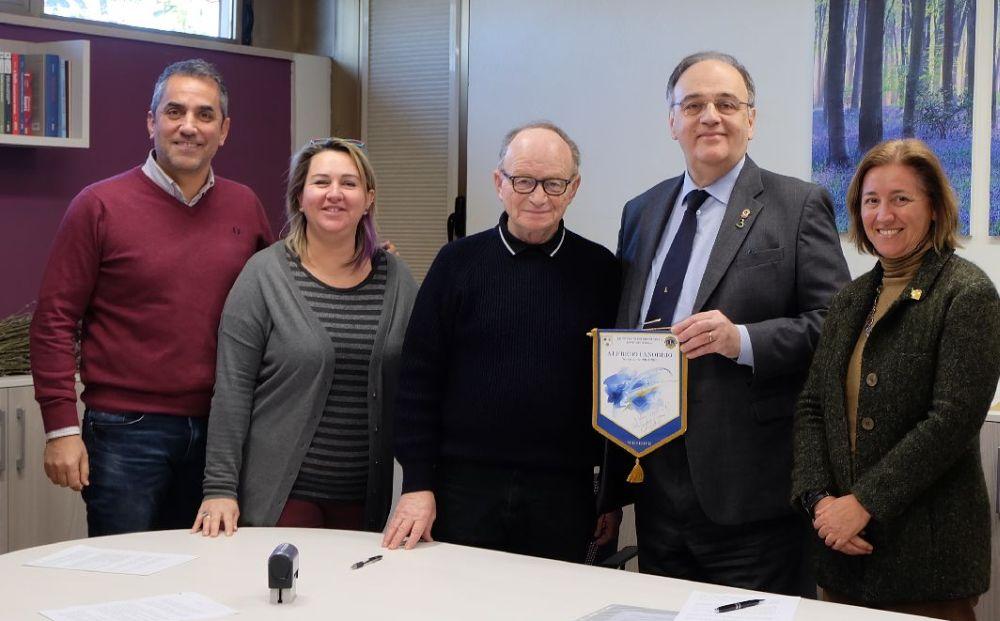 I Lions del Distretto di Tortona donano 40 mila euro al Centro Paolo VI di Casalnoceto per le cucine allagate