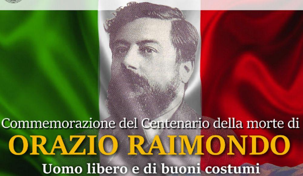 Tra 10 giorni a Sanremo gli eventi per la commemorazione di Orazio Raimondo, organizzati dalla Loggia Giuseppe Mazzini
