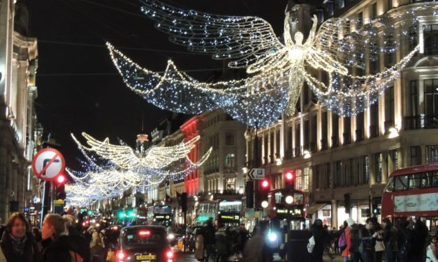 Viaggiareoggi: le splendidi immagini del Natale a Londra nelle vie dello Shopping a Mayfair e Soho