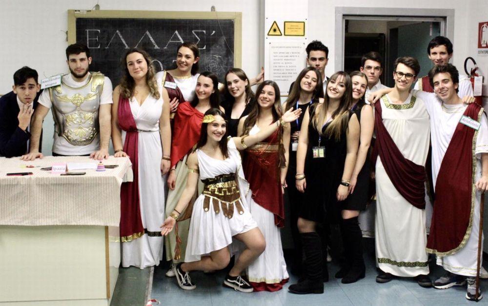 """Le immagini della spettacolare notte al Liceo """"Giuseppe Peano"""" di Tortona"""