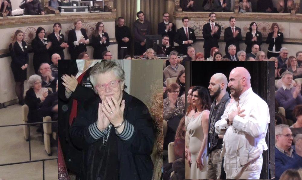 Lo Monaco e il Teatro Civico hanno ricordato la tortonese Donatella Rossini, morta a 58 anni