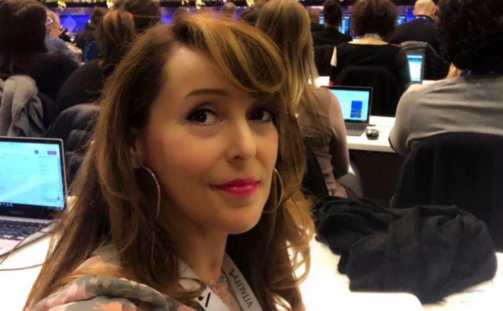 La giornalista alessandrina Enrica Giannini nella Giuria del Festival di Sanremo