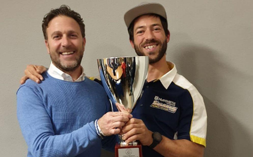 Piana ha premiato l'imperiese Maurizio Gerini, campione della Dakar