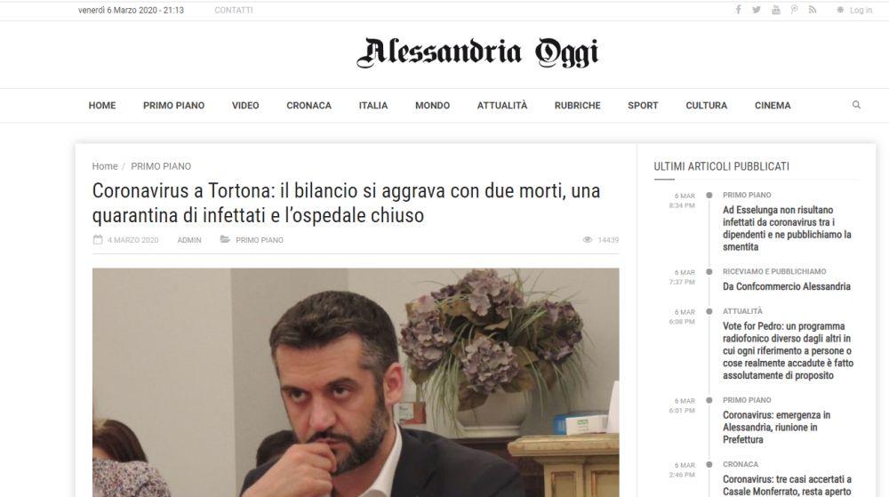 """alessandriaoggi continua a """"prendere"""" le foto da Oggi Cronaca senza citare la fonte!!"""