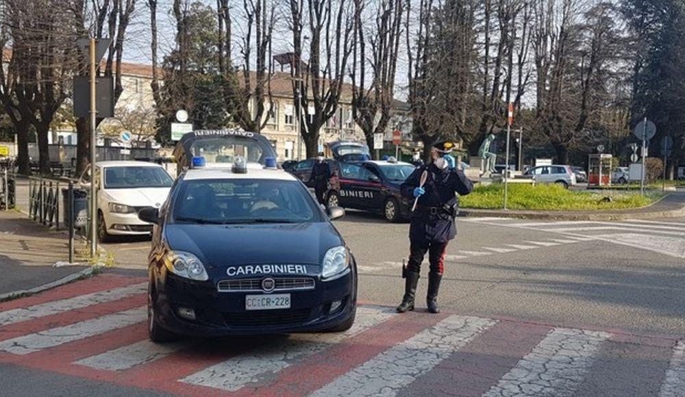Salgono a 217 le persone denunciate dai Carabinieri di Tortona in giro senza motivo. +55% in una settimana. Uno su 5 irregolare